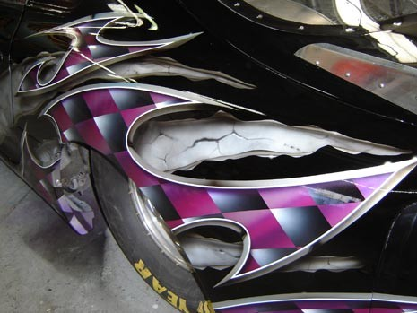 unique luxury home car designs | Vehicle Airbrushing